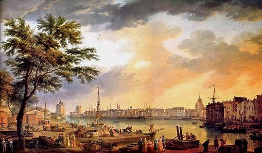 La Rochelle Harbor (1762) Joseph Vernet